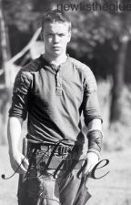 Mine: a Gally Fanfic (the maze runner) by NewtIsTheGlue