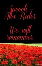 Speech- Alex Rider by CatRose0625
