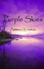 Purple Skies by AmmaraYounas