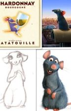 Ratatouille, rats à l'amour by Cheshire--Cat