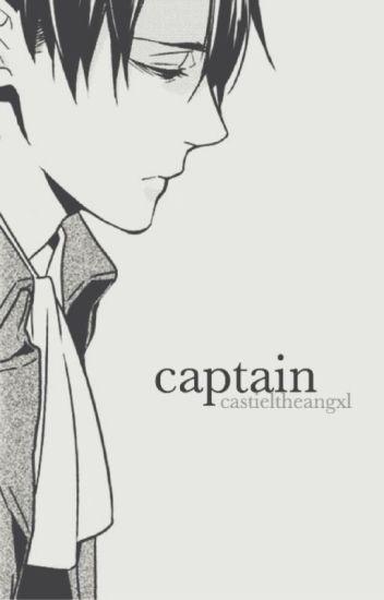 captain | levi x reader