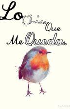 Lo unico que me queda. by Giselle-Medina