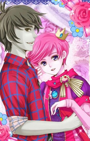 The sweet kiss of death - a marshall lee x prince Gumball fanfic