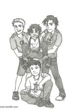 Percy Jackson Preferences by SadieZoeBianca