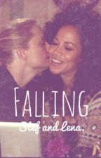 Falling. (Stef&Lena.) by sherripolostories