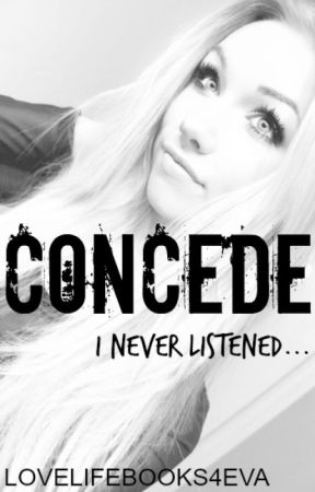 Concede (Percabeth) Book 2/3 by LoveLifeBooks4eva