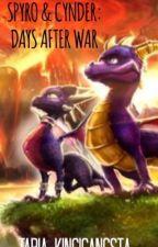 Spyro and Cynder Days after war by Taria_KingiGangSta
