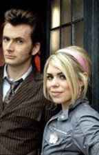 Rose Tyler and The Doctor by LaurenKindler