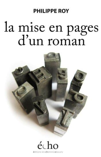 Mise en pages d'un roman