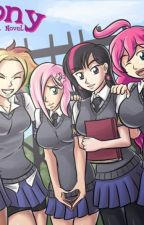 MLP: Highschool life by Cupcake_pinkiepie