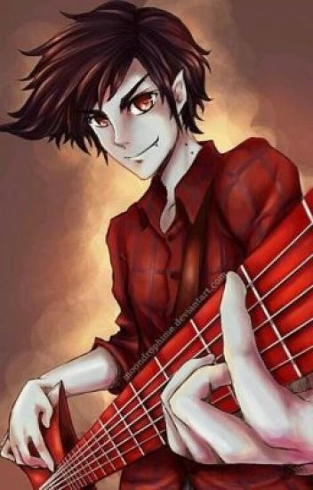 Bared fangs (Marshall lee x reader)