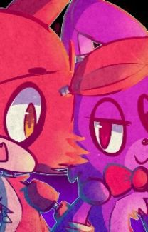 Fonnie foxy x bonnie christmas time in the pizzaria five nights at