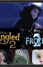 Tangled 2 Frozen 2 by singercnm