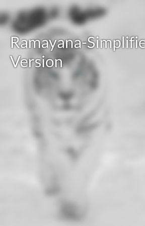 Ramayana-Simplified Version - Wattpad