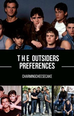 Outsiders Preferences - Wedding~Johnny - Wattpad