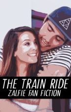 The Train Ride || Zalfie (Zoella and PointlessBlog) by rosegoldfranta