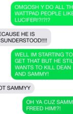 Weird things we say in our fandoms by INVISIBLENINJAH
