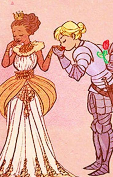 Princess & Her Knight by Kuubat