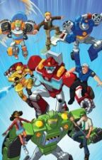 Transformers Rescue Bots: New Mission by Jay_Lock