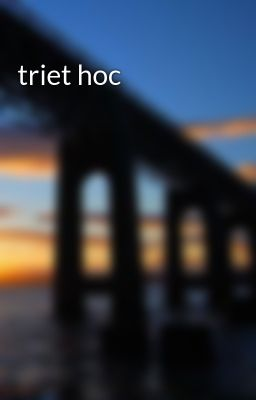 triet hoc