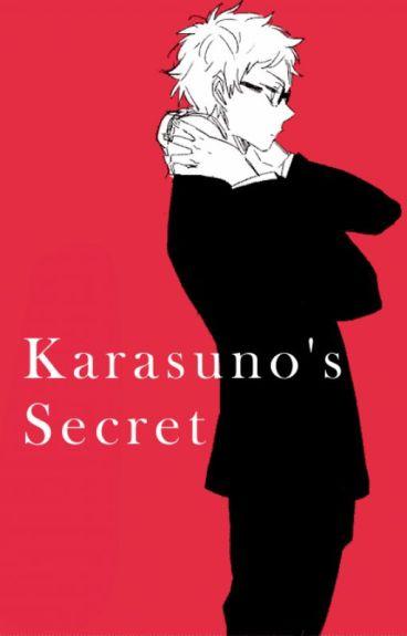 Karasuno's Secret (Tsukishima x Reader)