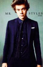 Mr. Styles // hs au by satiricstyles