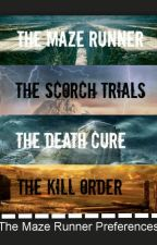 The Maze Runner Series by idkmagcon_