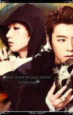 Más fuerte que nada Donghae by eun-kim