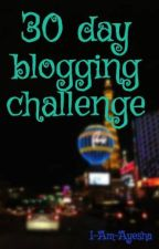 30 day blogging challenge by I-Am-Ayesha