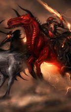 The Dark Horsemen's Triumph (Percy Jackson Fanfiction) by OkamiAkuma