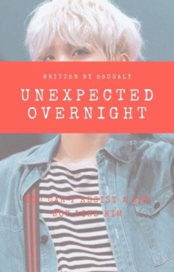 Unexpected Overnight with Min Yoongi (RomanceSmut)