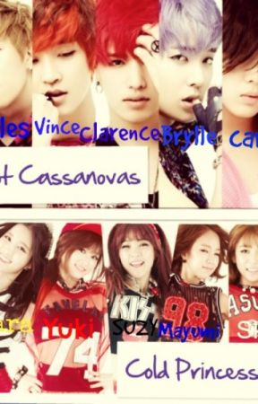 Hot Cassanovas vs. Cold Princesses by MelvenMartinez
