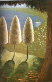 The Three Trees by kamedina03