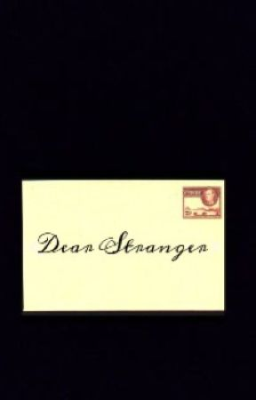 Dear Stranger by TheKittyciah