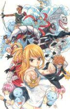 Miss Us, Fairy Tail? (A NaLu, GrUvia, GaLe, RoWen Fanfic) by pandanalusan