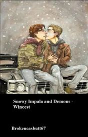 Snowy Impala and Demons by brokencasbutt67