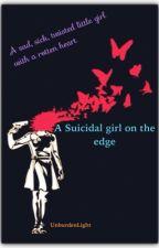 A suicidal girl on the edge by UnburdenLight