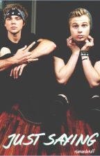 Just Saying (Lashton AU) {Completed} by niamandstuff