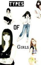 Types of girls by Cele_garcia08