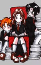 Harry and Hermione by starsarahbeth6