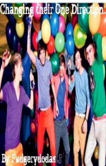 Changing their One Direction by fudgerydodas