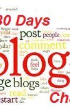 30 days blogging challenge!! by divergent1996