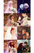 Quatre Disney, Une Histoire. by Carlos_Denfer