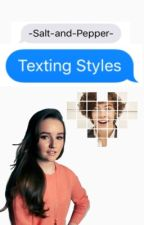 Texting Styles//h.s. by -Salt-and-Pepper-