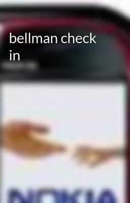 bellman check in