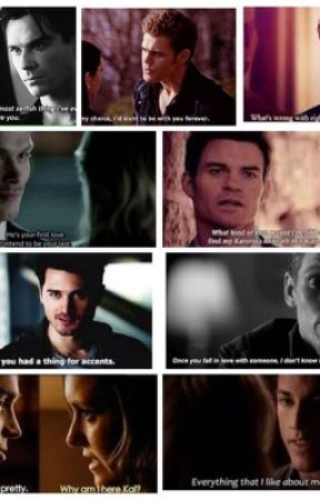 Vampire diaries preferences by coldglassofcola