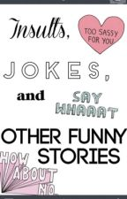 Insults, Jokes and Other Funny Stories by thelonelywave