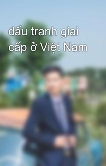 đấu tranh giai cấp ở Việt Nam