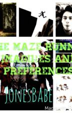 The Maze Runner: Imagines and Preferences by Fxndxmb