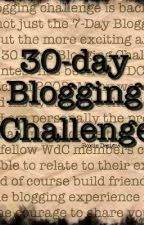 My 30 Day Blogging Challenge by russninja